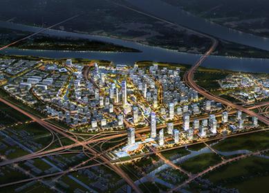 广州南沙新区庆盛枢纽区块综合开发项目项目