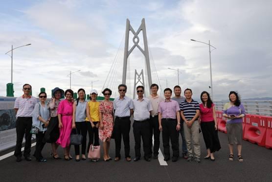 广咨国际赴港珠澳大桥、横琴新区开展重点建设项目调研走访